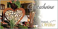 Hotel in Bayern - Geschenkgutschein