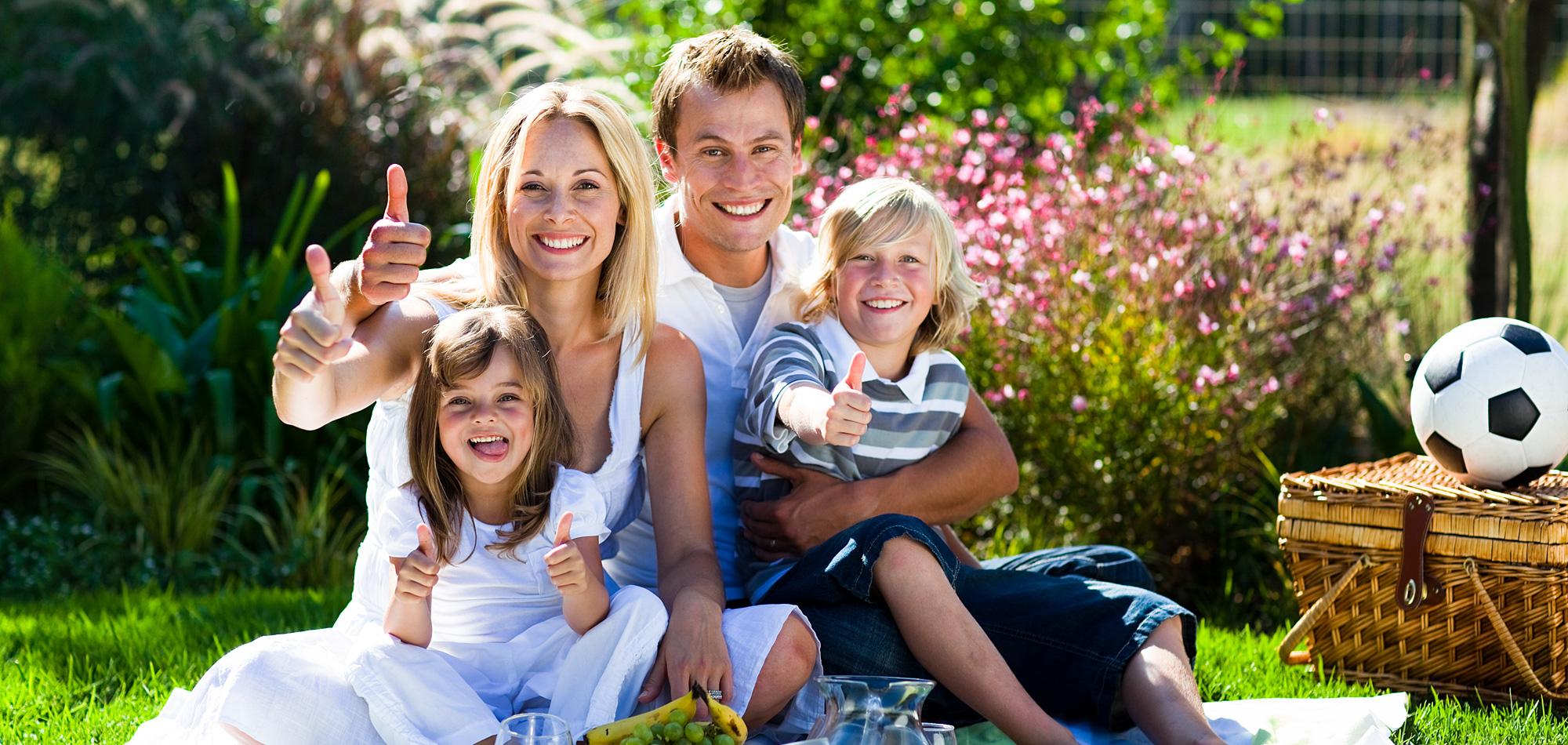 картинки семья отдыхает дома пятнышки