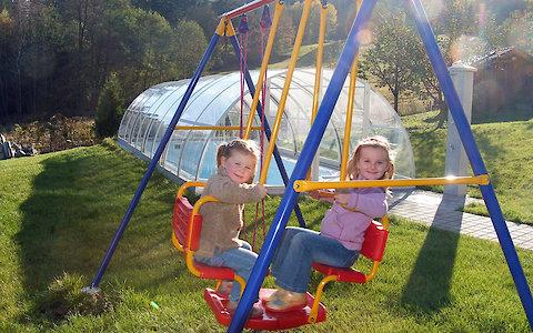 Ferienwohnung mit Spielplatz im Bayerischen Wald
