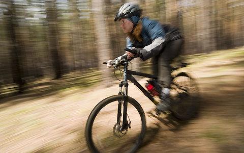 Mountainbike fahren in Bayern