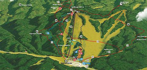 MTB ZONE - Geisskopf - Streckenübersicht