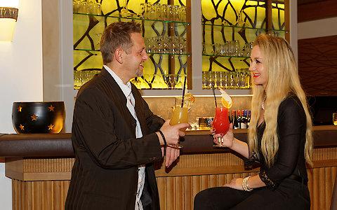 Bar im Hotel Weber
