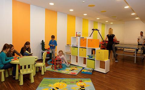 Spielezimmer im 3-Sterne Superior Hotel in Zachenberg