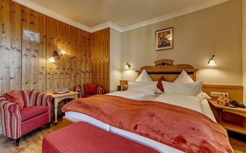 Doppelzimmer Geißkopf Komfort im Wellnesshotel im Bayerischen Wald