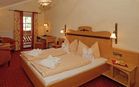 Doppelzimmer Landhaus im Wellnesshotel Bayerischer Wald