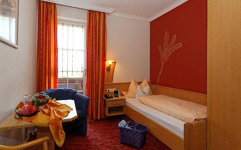 Einzelzimmer Geißkopf Komfort im Wellnesshotel in Bayern