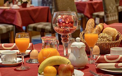Vitalfrühstück im Wellnesshotel Weber