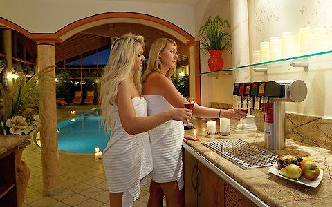Wellnessbar im 3-Sterne Superior Hotel in Zachenberg